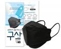 韓國큐앤아이 KF94防疫四層成人口罩1包共1個 (黑色) 為節省客人運費會拆盒寄出