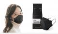 Li.lit 韓國KF94防疫成人口罩1包共1個 (黑色)  (最新生產黑色包裝) 為節省客人運費會拆盒寄出