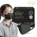 Smart Eco EU Mask 韓國製三層防護小童口罩 (黑色/白色) (一盒50個) (購置2盒或以上每盒$59)