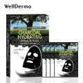 Wellderma Charcoal Hydrating Ampoule Mask 夢蝸黑炭保濕營養面膜 (一盒四塊) ((產品有效使用日期:2021年9月28日))