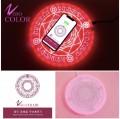 Zero Color Magic Optical Array Wireless Charging 無線魔法陣充電器升級版 (升級版含10W輸出快充、可開關音效)
