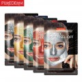 PUREDERM GALAXY PEEL-OFF MASK x 6ea (Black, Gold, Green, Red, Silver, Blue)