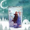 Forzen 冰雪奇緣2水蜜桃口味維他命C 一包56G約40片 (韓國版)