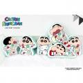Crayon Shin Chan Pajama Line Print Cushion 韓國限定蠟筆小新攬枕