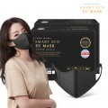 (第2批)Smart Eco EU Mask 韓國製三層防護成人口罩 (黑色/白色) (一盒50個) (購置2盒或以上每盒$59)