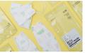 Li.lit SMALL KF94 MASK韓國KF94防疫兒童口罩1包共1個 (白色有圖案) 為節省客人運費會拆盒寄出