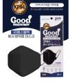 Good Manner 韓國KF94防疫成人口罩1包共1個 (黑色)
