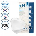 韓國KF94防疫三層成人口罩1包共1個 (白色) X 50 個 (為節省客人運費會拆盒寄出)