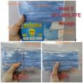 Perfetta Level 2 藍色 ( VFE, BFE , PFE) 有LOGO (3LOP 越南3層成人口罩)(一盒 50個口罩)